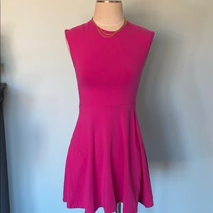 Aritzia Talula Skater Dress with a cut out back
